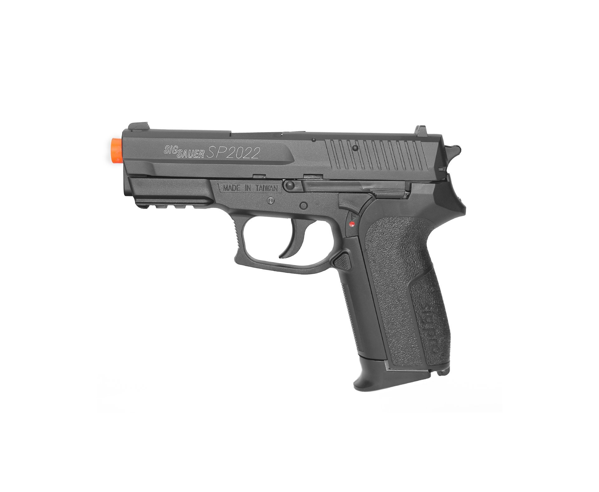 Pistola De Airsoft Gas Co2 Sig Sauer Sp2022 Slide De Metal Cal 6mm