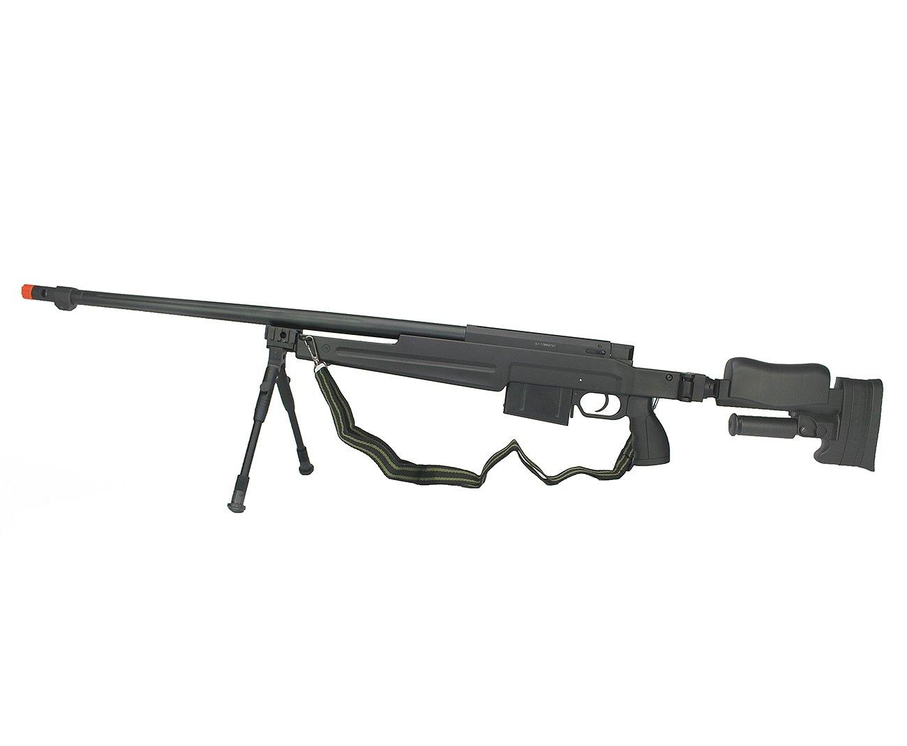 Rifle De Airsoft Sniper Gas Gbb G86b Com Bipé Cal 6.0mm - Well