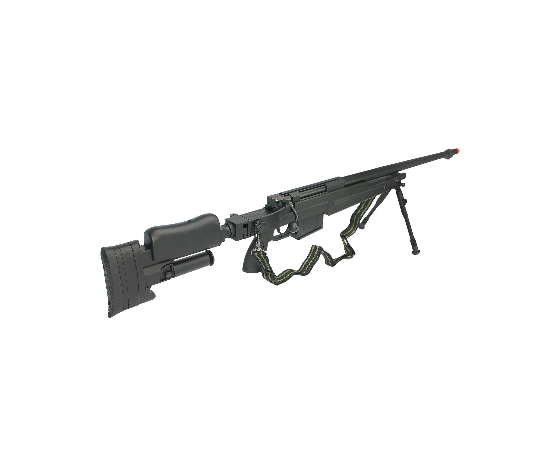 Rifle De Airsoft Sniper Gas Gbb G86b Com Bipé Cal 6.0mm - Well