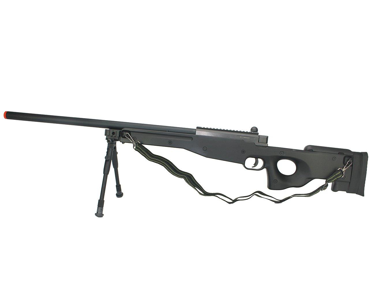 Rifle De Airsoft Sniper Gas Gbb G21c Com Bipé Cal 6.0mm Well