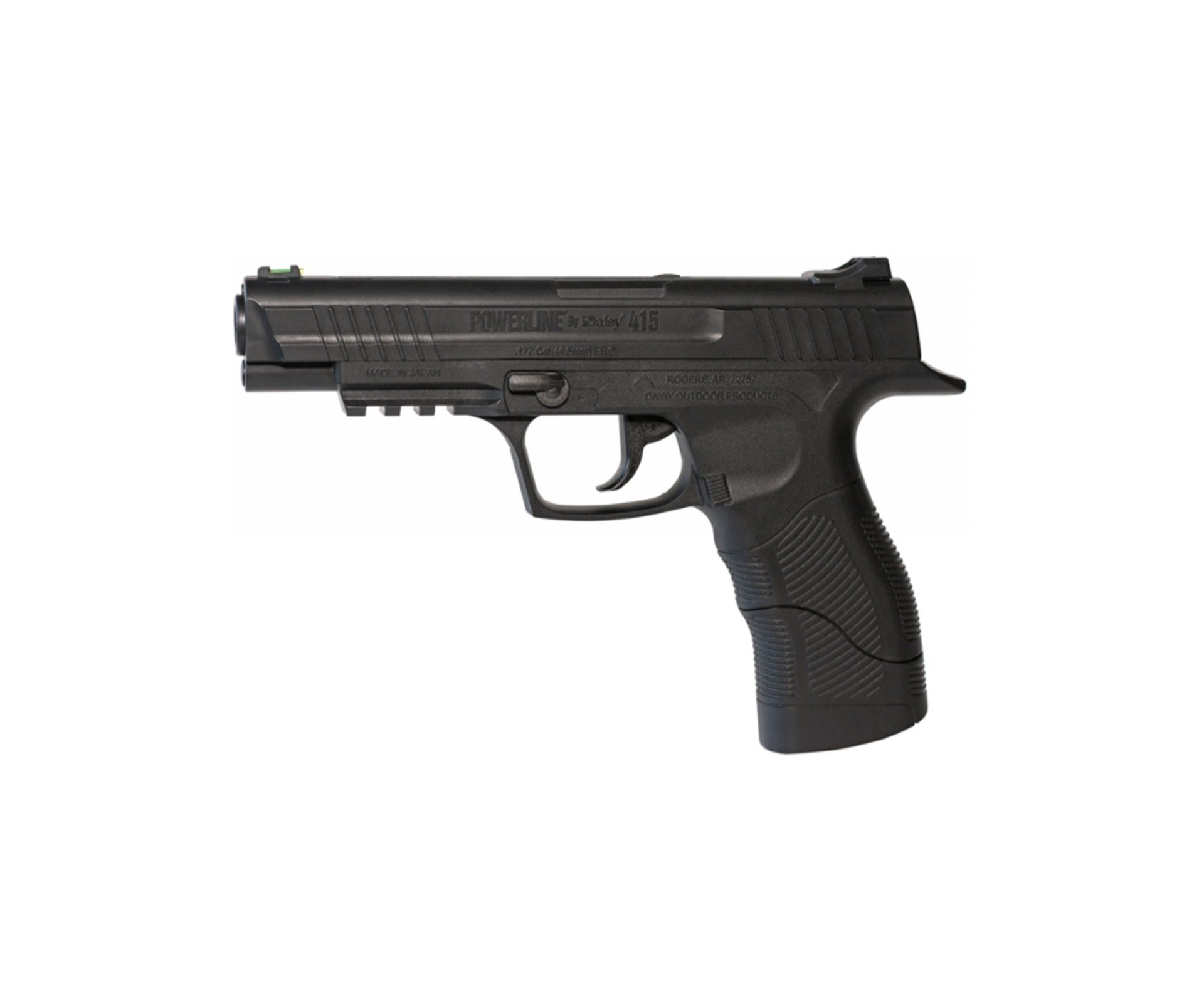 Pistola De Pressão Gas Co2 Semi-automática Daisy 415 Powerline 4.5mm
