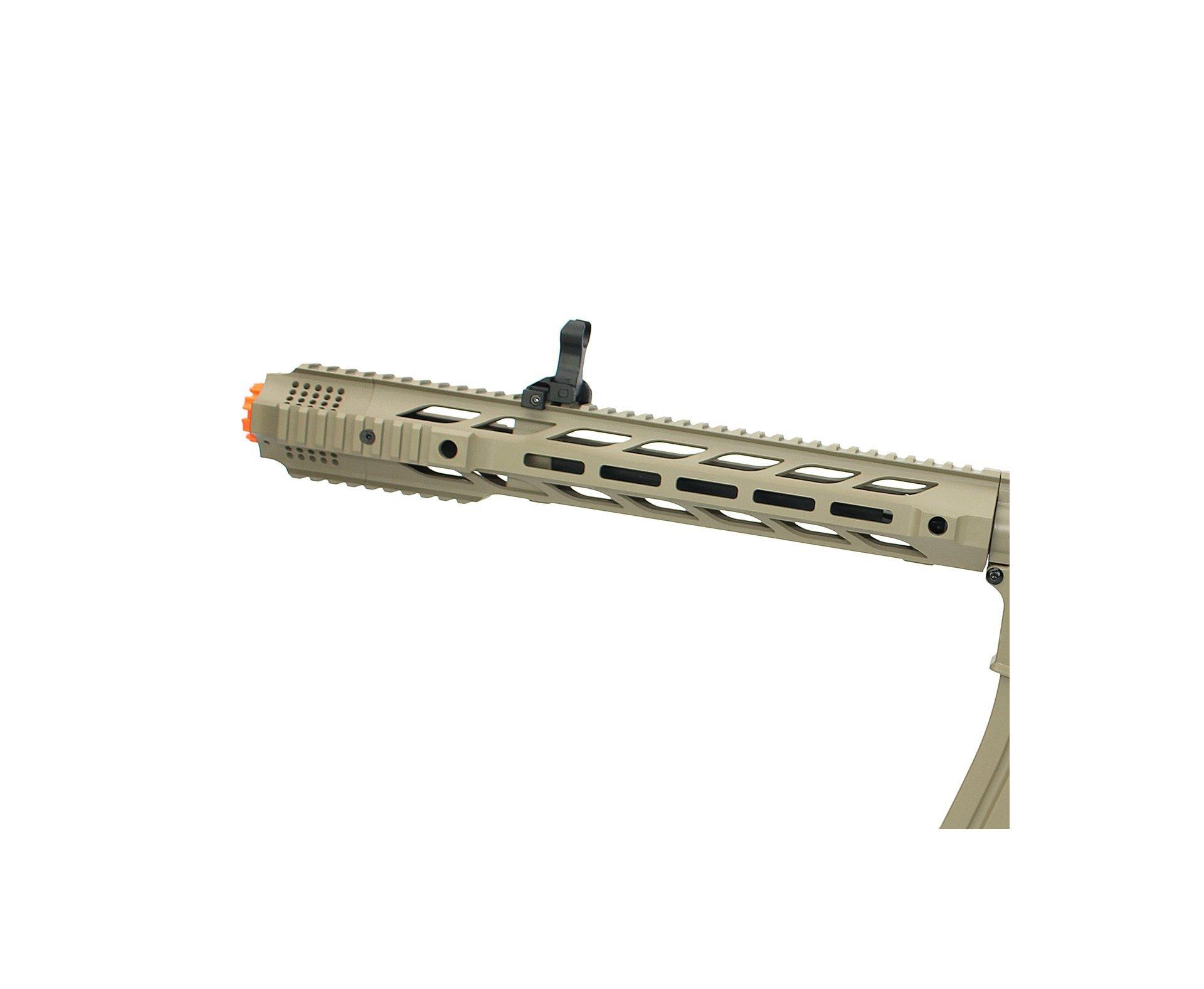 Rifle De Airsoft M4a1 Keymod Cm518 Tan - Cal 6mm- Bivolt- Cm518 - Cyma