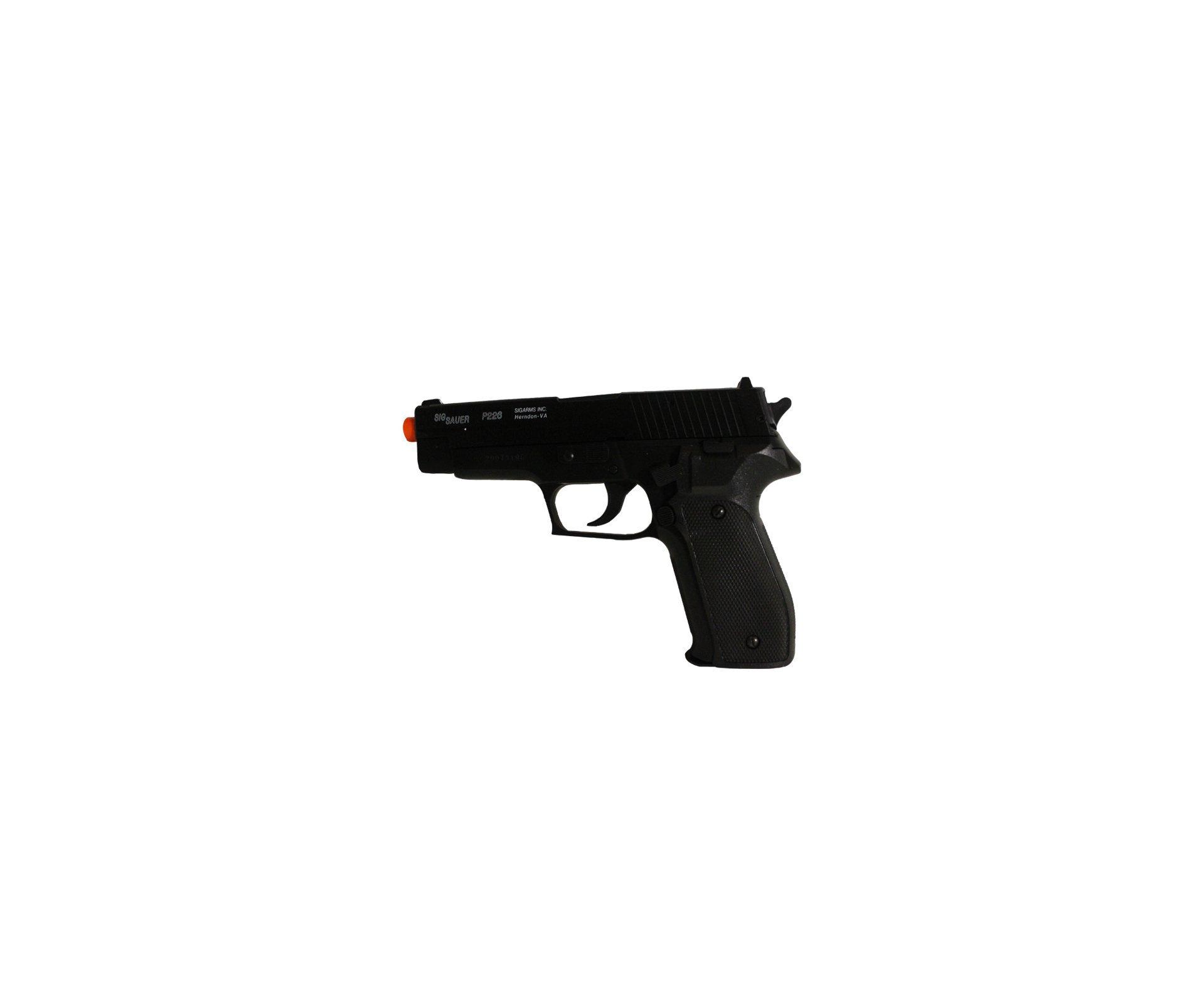 Rifle De Airsoft Colt M4a1 Carbine - Elétrico - Cal 6,0 Mm + Pistola P226 + Mochila Rossi ()