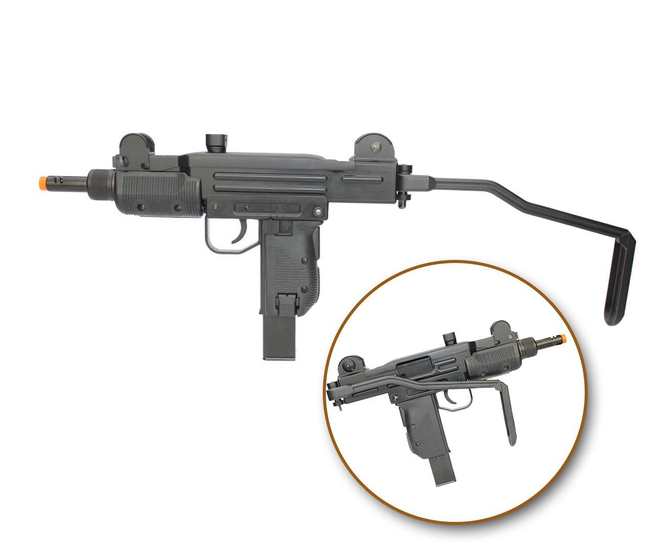 Rifle De Airsoft Co2 Sub-metralhadora Mini Uzi Full Metal Blowback 6.0mm Kwc