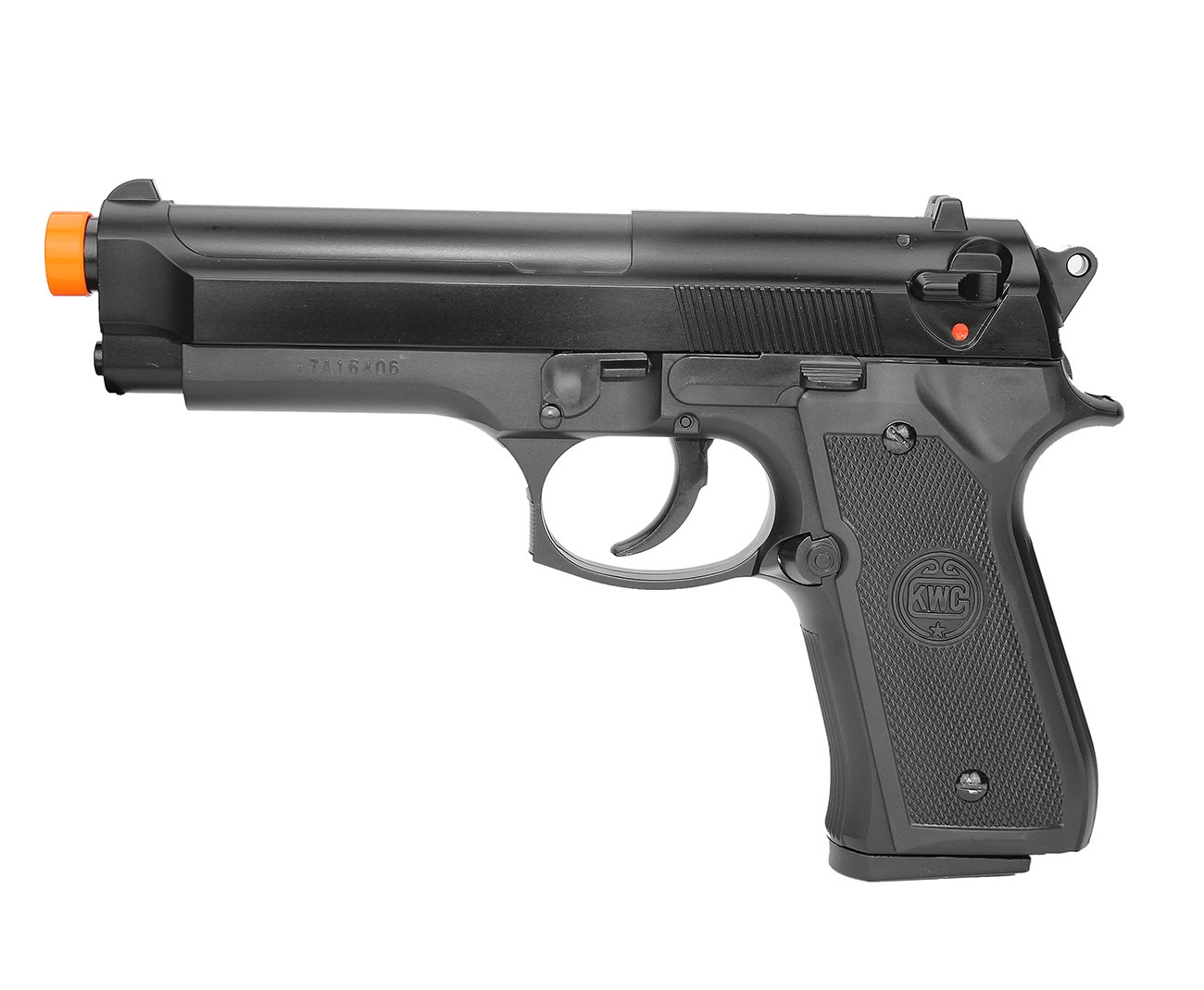 Pistola De Airsoft Beretta M92 Spring Cal 6.0 Mm Kwc