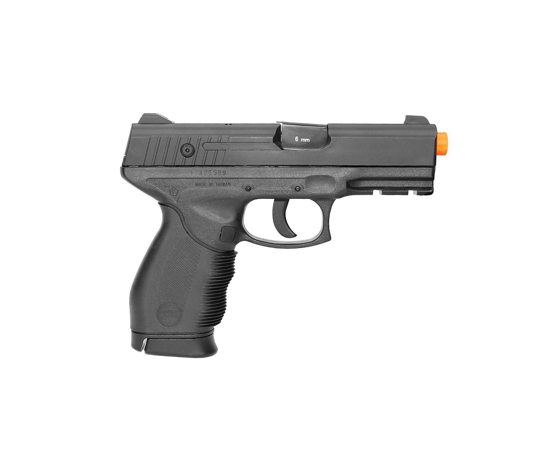 Pistola De Airsoft Gas Co2 Pt 24/7 Cal 6.0mm Kwc