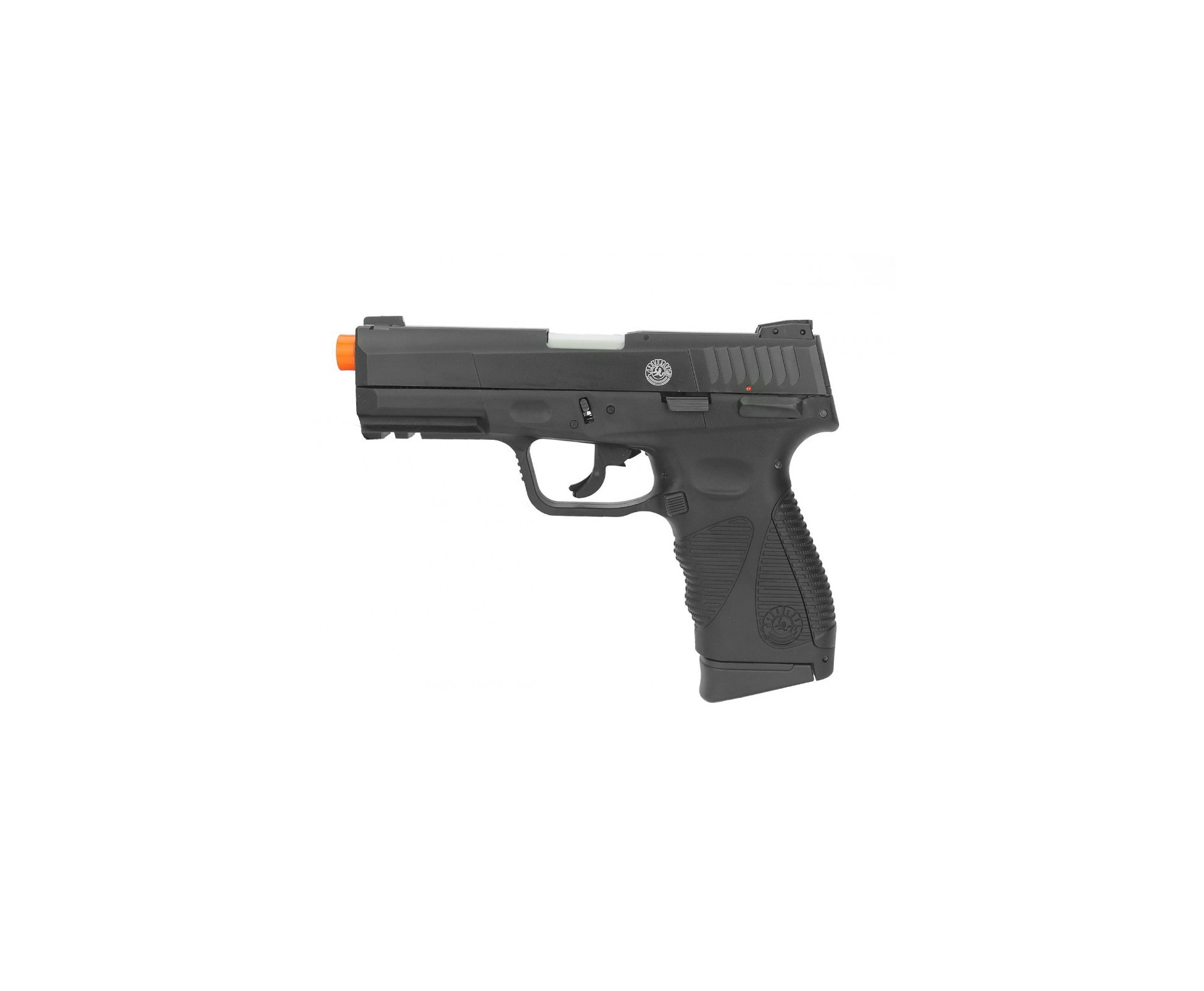 Pistola De Airsoft Gas Co2 Taurus Pt 24/7 G2 Blowback Preta 6mm + Bbs + 02 Co2