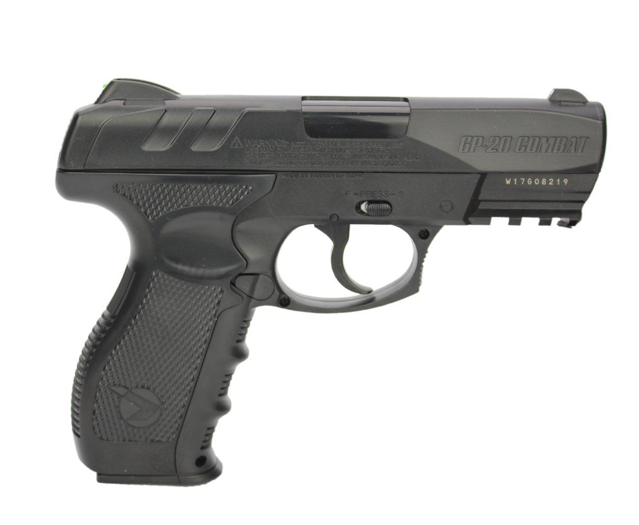 Pistola De Co2 Gamo Gp-20 Combat Cal 4,5mm