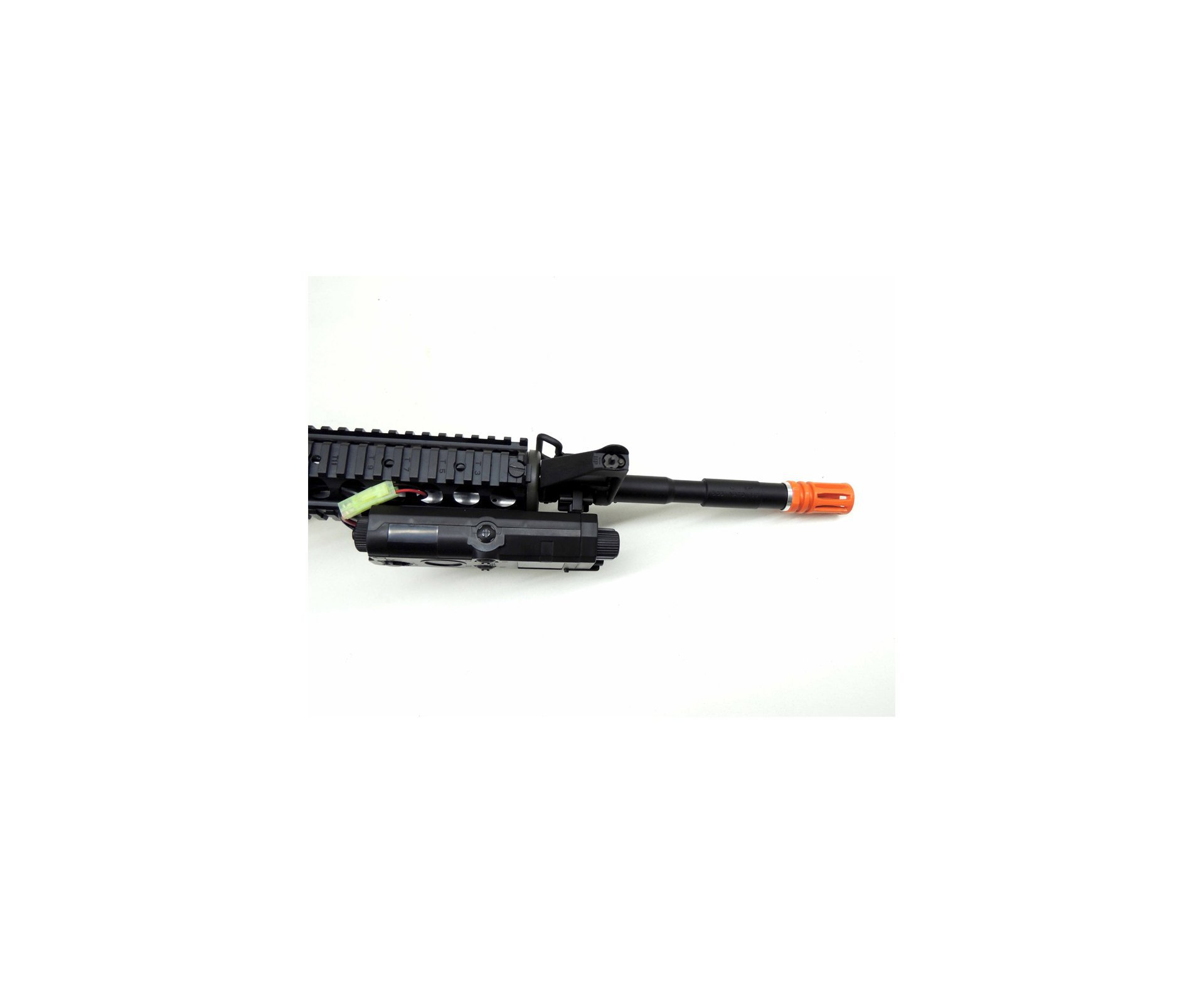 Rifle De Airsoft Col M4 Ris K.a Cal. 6mm + Red Dot 1x30 Rossi Elevada