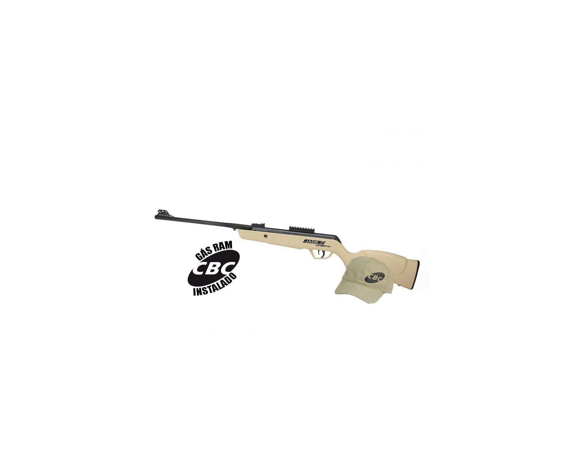 Carabina De Pressão Cbc Jade Mais Nitro Desert 4,5mm