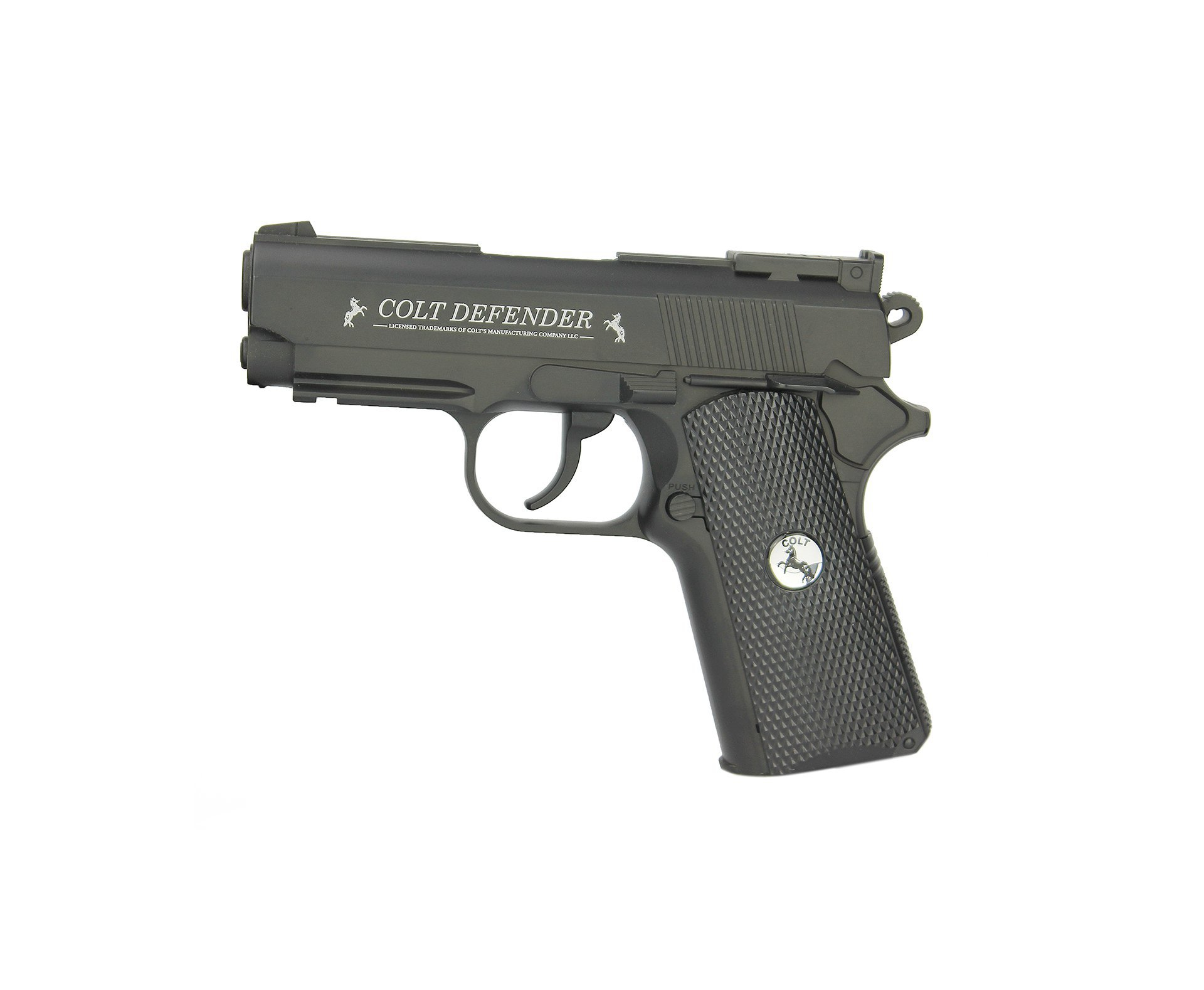 Pistola De Pressão Co2 Colt Defender Full Metal 4,5mm