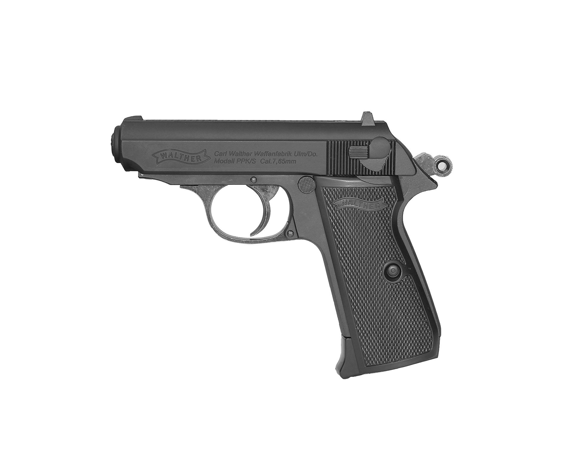 Pistola De Pressão Co2 Walther Ppk/s Blowback 4,5mm