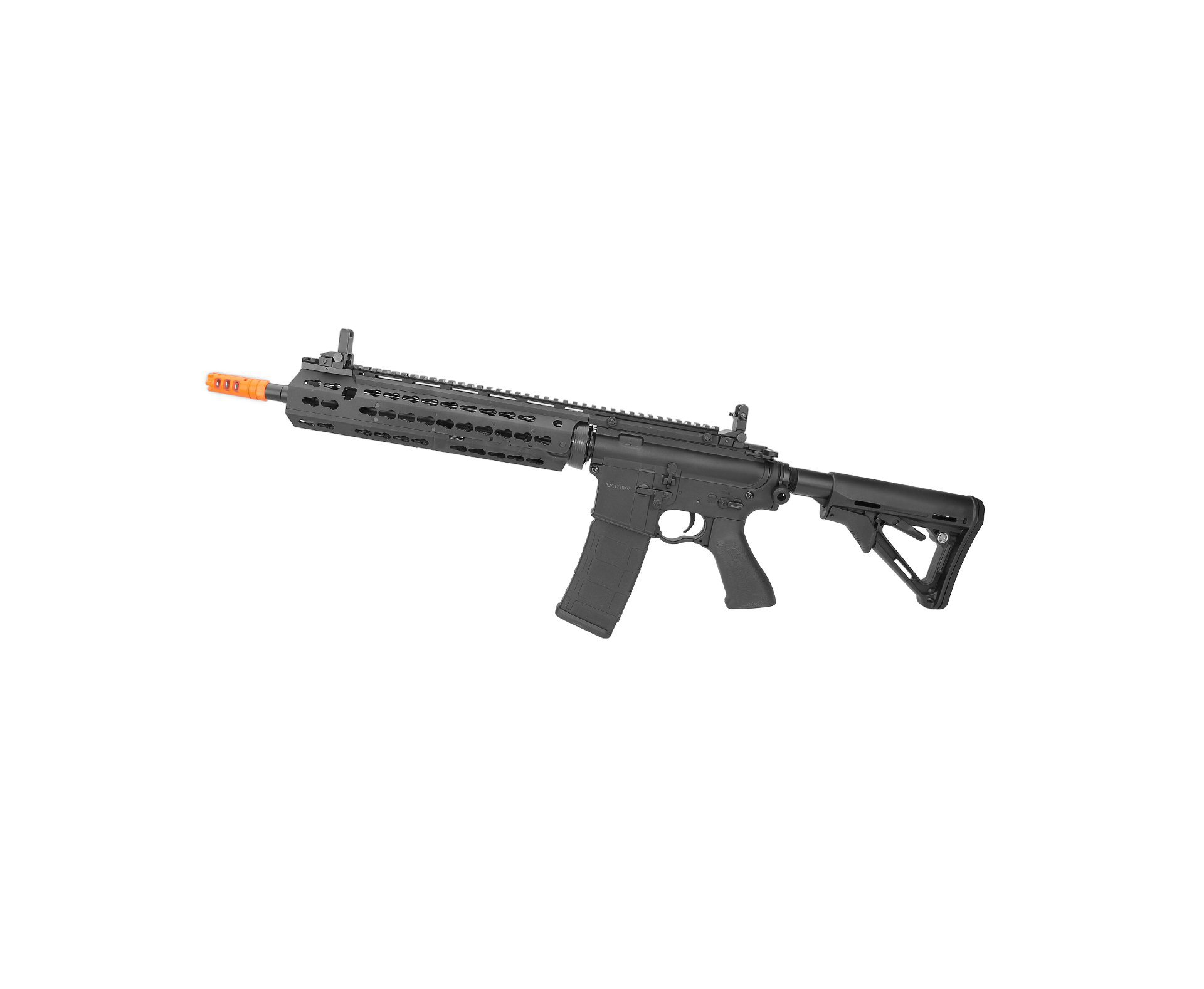 Rifle De Airsoft Cyma M4 Long Keymod Cm619a Bivolt Cal 6.0mm Cyma
