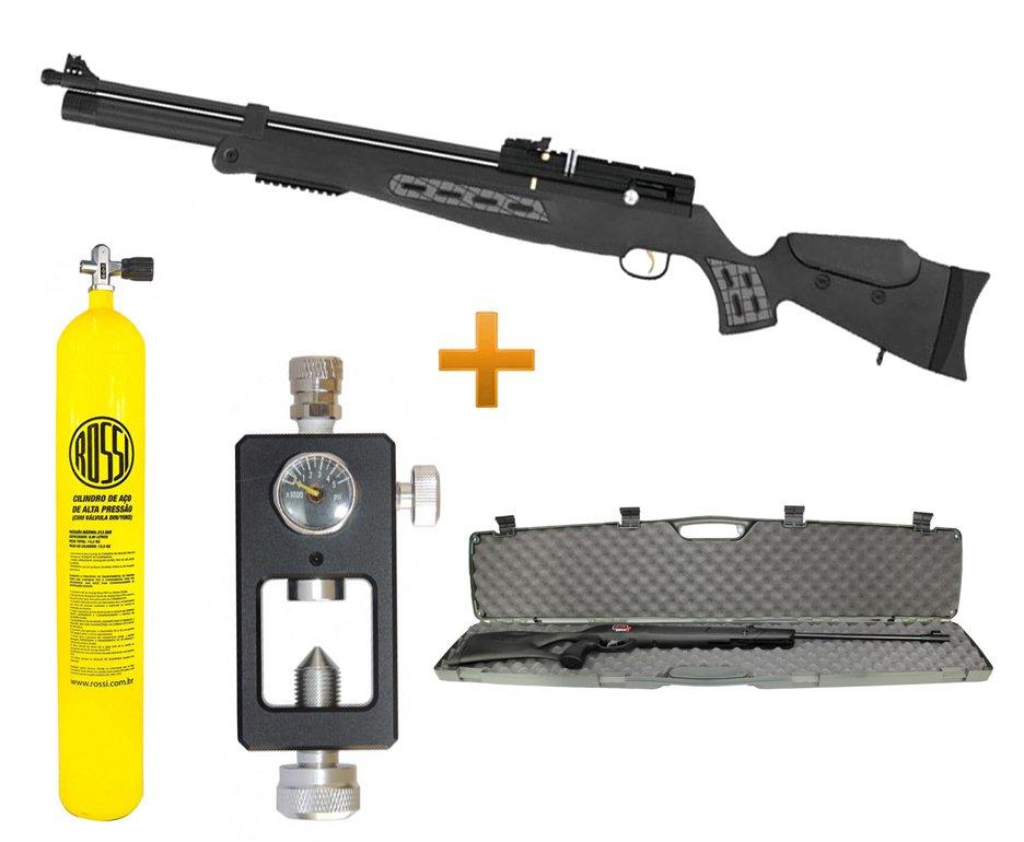 Carabina Pcp Hatsan Bt65sb 5.5 + Case Plano + Scuba 10l + Adaptador Recarga
