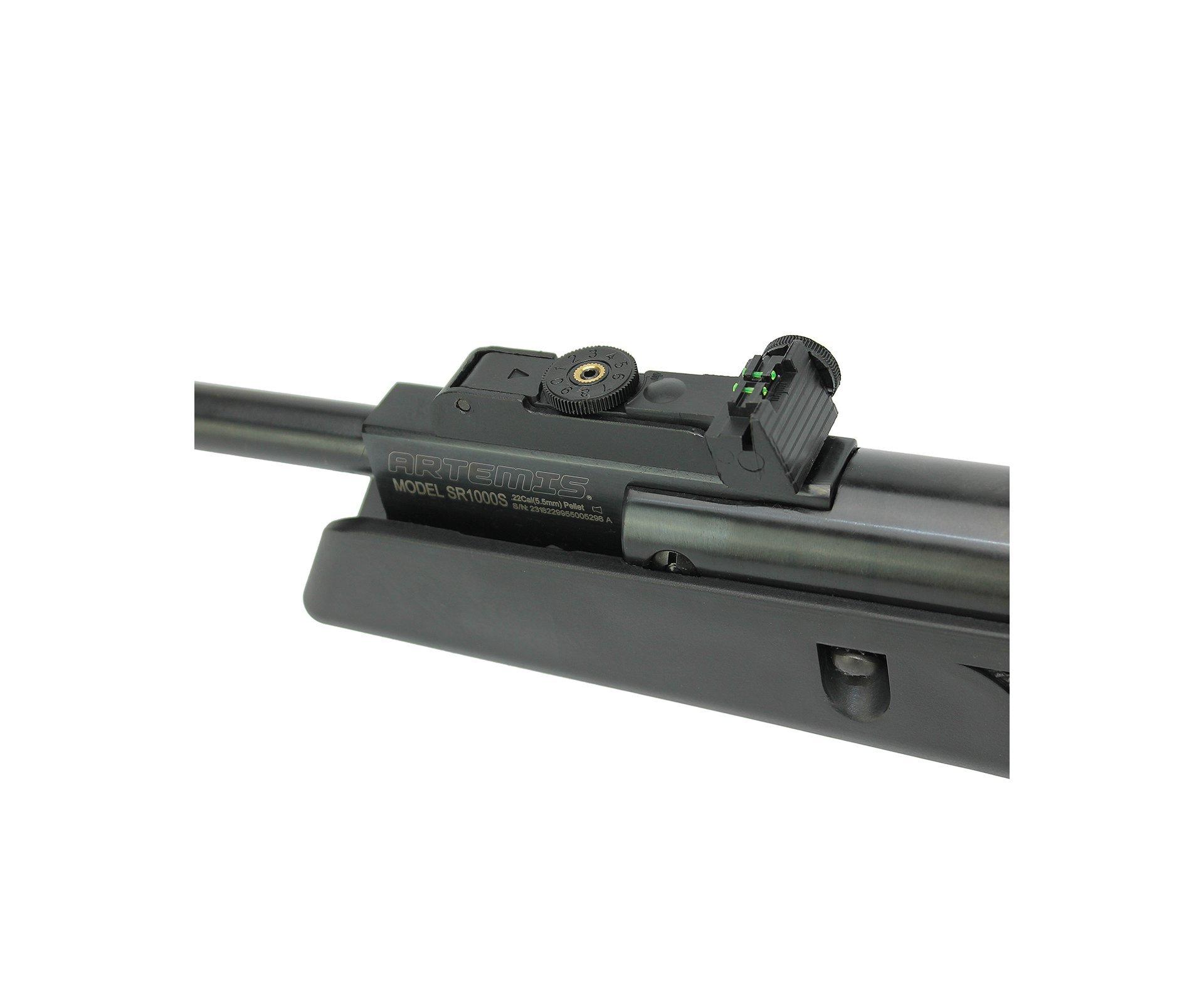 Carabina De Pressão Black Hawk Gas Ram 70kg 5.5mm Artemis