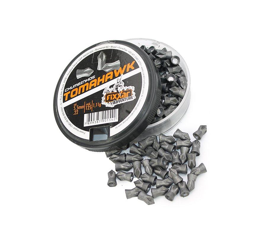 Chumbinho Destruição Tomahawk Com 125unds 5.5mm