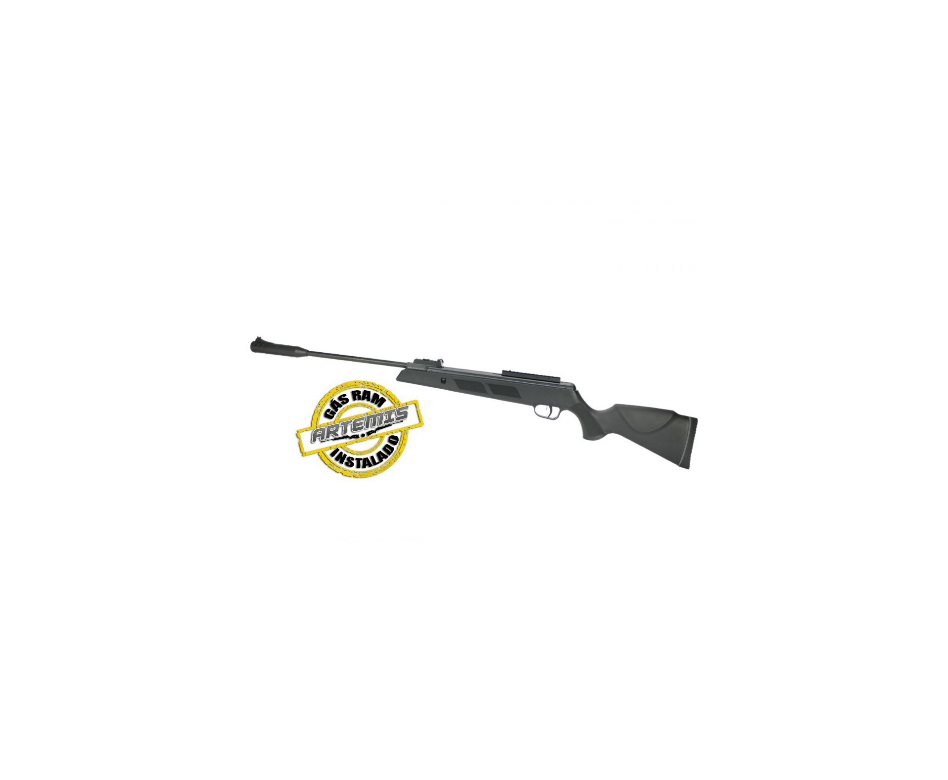 Carabina De Pressão Black Hawk Gas Ram 70kg 4.5mm Artemis