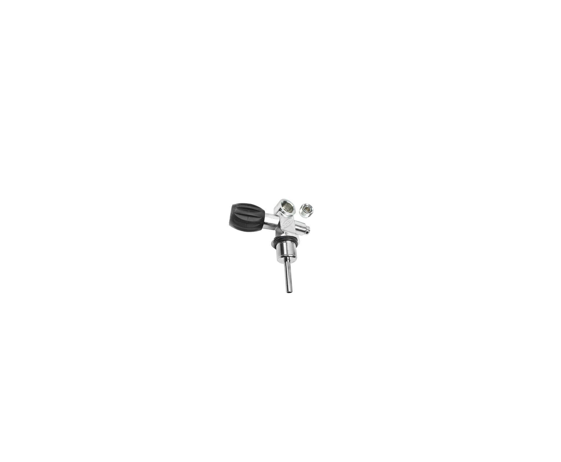 Cilindro Scuba 10lts + Valvula Yoke + Adaptador Recarga Para Pcp