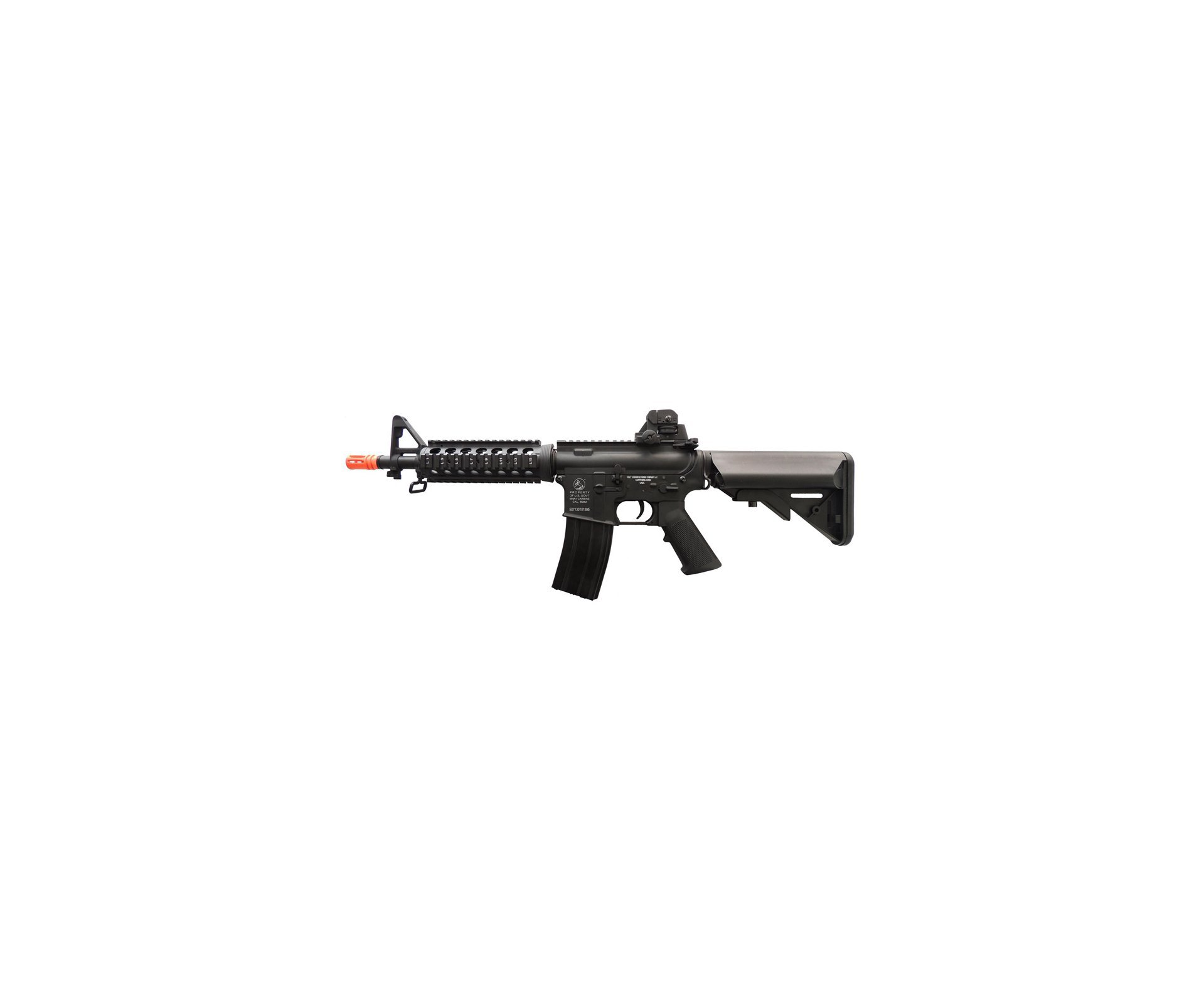 Rifle De Airsoft Colt M4 Ris Cqb - Full Metal - Calibre 6.0 Mm - Cyber Gun