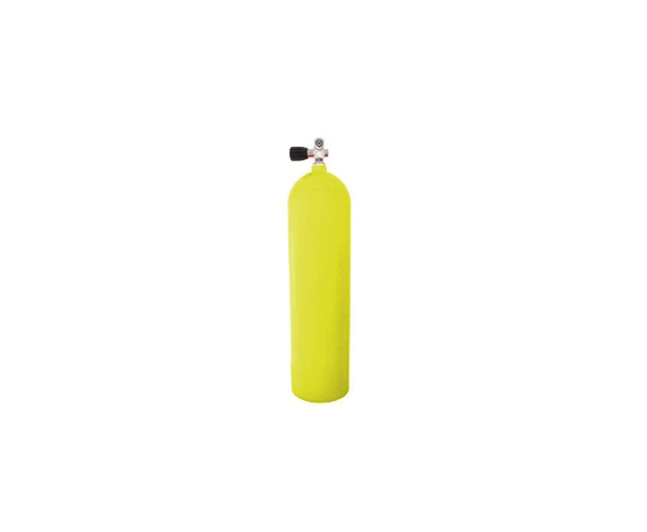 Cilindro De Alumínio Scuba 11,1 Litros (200 Bar) + Valvula Yoke