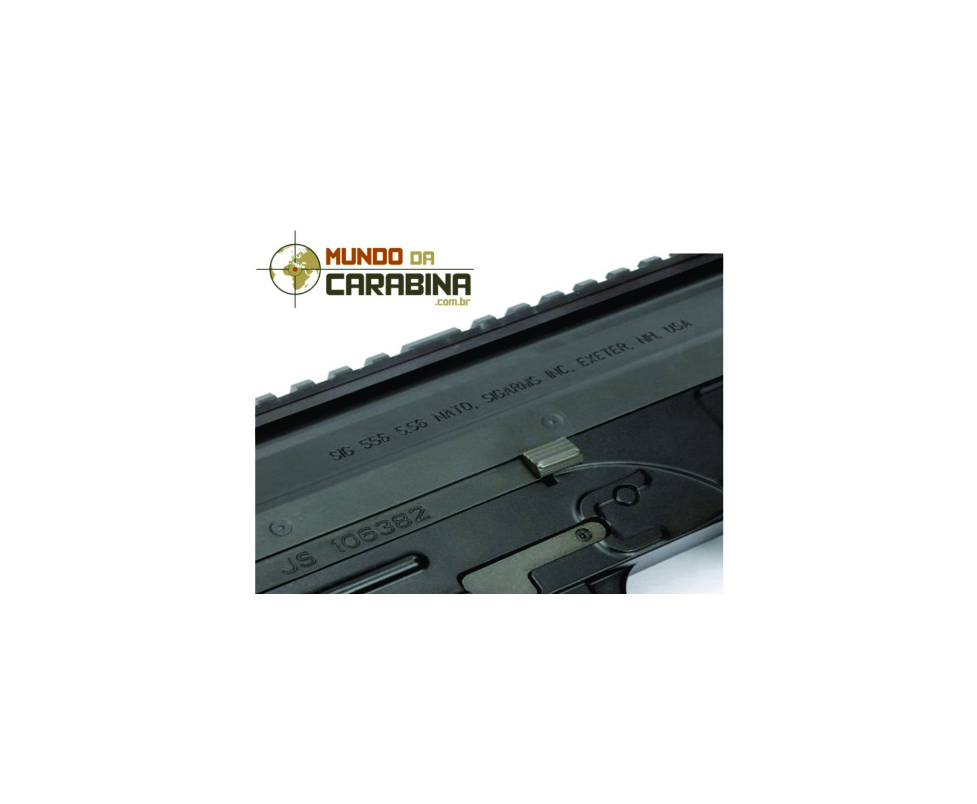 Rifle De Airsoft Sig 556 Shorty Full Metal Blowback Cal 6.0mm - King Arms