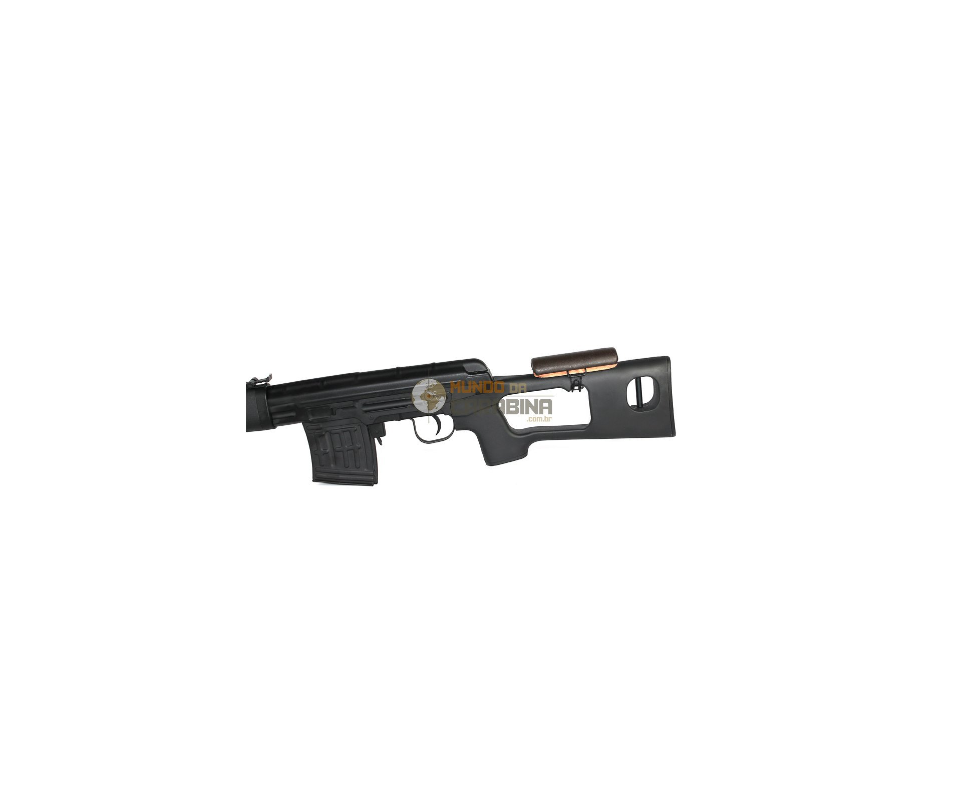 Rifle De Airsoft Sniper Dragunov Full Metal Cal 6.0mm Aeg - King Arms