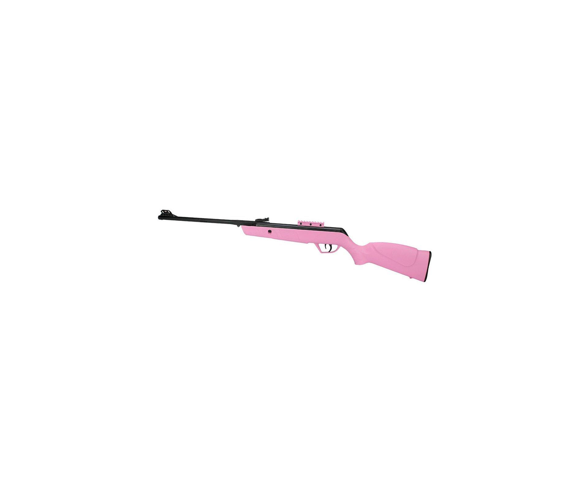 Carabina De Pressão Cbc Jade Mais Cal 4,5mm Oxidada Rosa